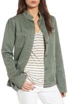Hinge Women's Peplum Utility Jacket