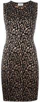 Lanvin leopard pattern knit dress - women - Viscose/Polyamide - L