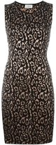 Lanvin leopard pattern knit dress