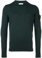 Stone Island chest pocket sweater