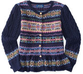 Ralph Lauren Fair Isle Cotton-Wool Cardigan
