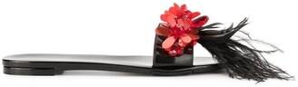 Simone Rocha Embellished Slides