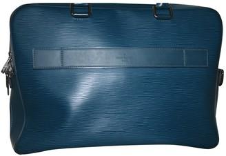 Louis Vuitton Blue Leather Bags
