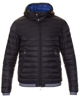 Moncler Vidal Detachable Hood Quilted-down Nylon Jacket