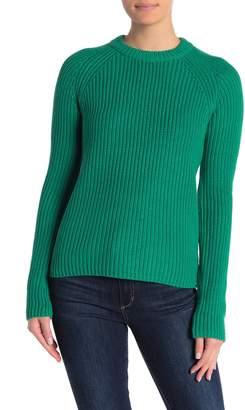 525 America Long Raglan Sleeve Knit Sweater