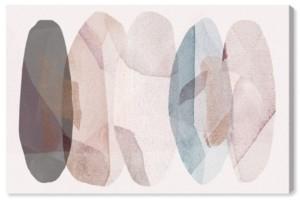 """Oliver Gal Leaf Shower Canvas Art, 36"""" x 24"""""""