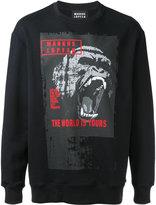Markus Lupfer gorilla print sweatshirt