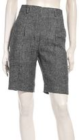 Les Prairies des Paris Linen Short Trousers