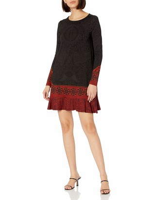 Desigual Women's Dress Long Sleeve