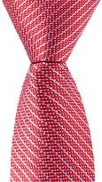 "Class Club Gold Label 12"" Micro Stripe Tie"