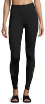 Lanston Rhett Side Panel Legging, Black