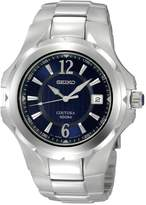 Seiko Men's SGEE67 Coutura Silver-Tone Dial Watch [Watch