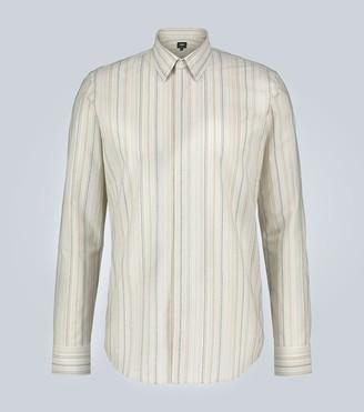 Fendi Striped cotton shirt