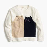 J.Crew Girls' kitty friends popover sweater