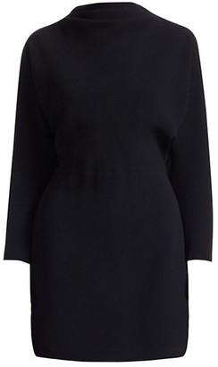 A.L.C. Marin Cowl Neck Mini Dress