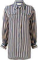 Fendi striped long sleeve shirt