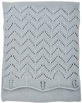 Silver Cloud Baby Boutique Shawl Silver (Blue)