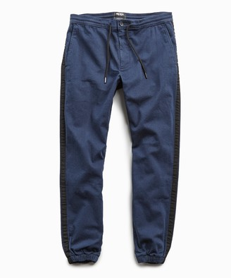 Todd Snyder Cotton Side Stripe Jogger in Navy