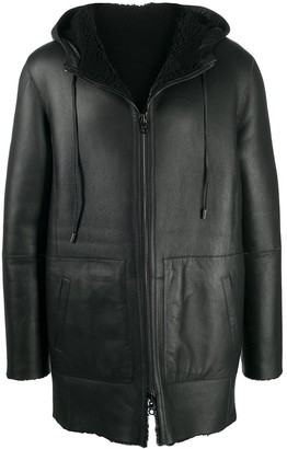 Desa Collection Shearling Lined Coat
