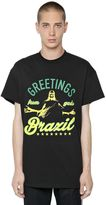 Gcds Greetings From Brazil Jersey T-Shirt