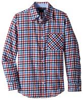 Toobydoo Happy Checks Flannel Shirt (Infant/Toddler/Little Kids/Big Kids)
