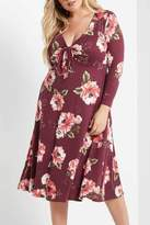 MaiTai Floral Tie Dress