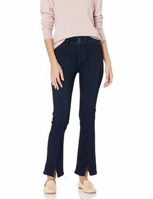 Paige Women's Claudine Transcend Relaxed Fit Flare Leg Jean