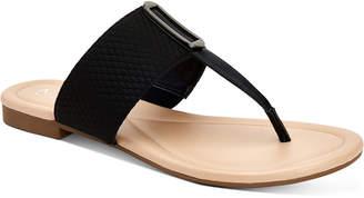 Alfani Women Step 'N Flex Hewitt Thong Flat Sandals, Women Shoes