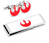 Star Wars STARWARS Rebel Alliance Cuff Links & Money Clip Gifts Set