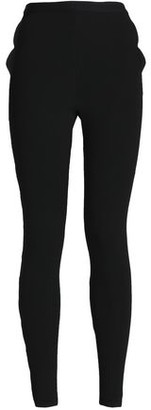 Valentino Ribbed-knit Skinny Pants