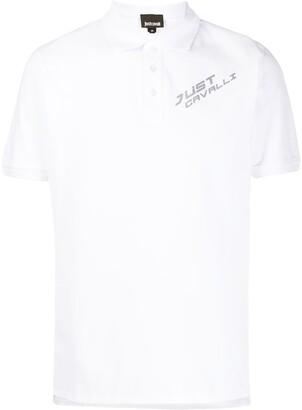Just Cavalli chest logo polo shirt