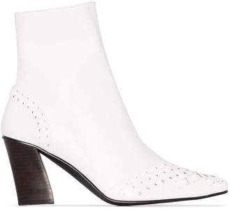 Reike Nen Woven 80mm Ankle Boots