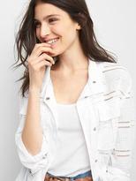 Gap Eyelet utility jacket