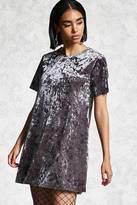 Forever 21 Crushed Velvet T-Shirt Dress