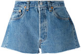 Levi's denim shorts - women - Cotton - 28