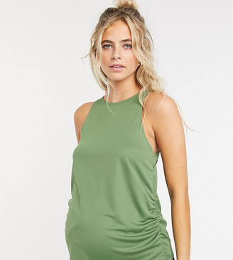 ASOS 4505 Maternity vest with wrap panel detail