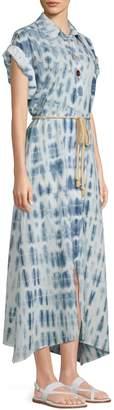 Nanushka Hannah Tie-Dye Maxi Dress