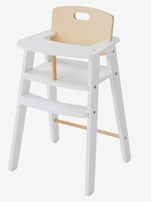 Vertbaudet Wooden High Chair for Dolls