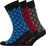 DuFFS Mens Three Pack Socks Multi