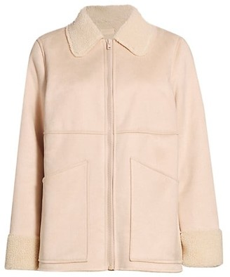Mother The Timber Faux Fur Jacket