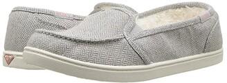 Roxy Minnow Wool Slip-On (Grey Herringbone) Women's Slip on Shoes