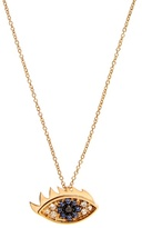 Delfina Delettrez Diamond, sapphire & yellow-gold necklace