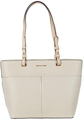 MICHAEL Michael Kors Bedford Medium Top Zip Pocket Tote (Black) Tote Handbags