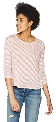 Three Dots Women's Mojave Stripe Short Loose top