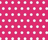 SheetWorld Fitted Pack N Play Sheet - Polka Dots Hot - Made In USA - 29.5 inches x 42 inches (74.9 cm x 106.7 cm)