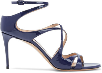 Casadei Tiffany Patent-leather Sandals