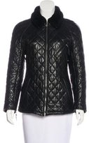 Bally Quilted Leather Jacket