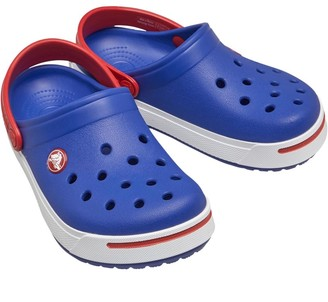 Crocs Junior Crocband II Clogs Cerulean Blue/Pepper