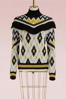 MSGM Wool jacquard Sweater