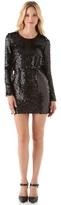Rachel Zoe Selita Blouson Sequin Dress